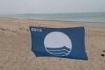 été 2013 : 19e pavillon bleu pour la plage de Saint-Martin-de-Bréhal