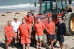 SNSM : quelques-uns des membres de l'équipage du bateau d'intervention (Roquereuil) basé à Saint-Martin. Toujours prêts à intervenir, 24h/24