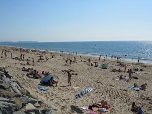 La plage de Saint-Martin